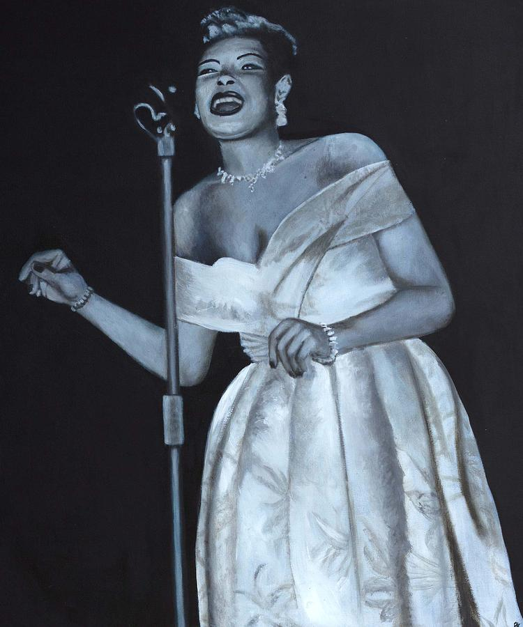 Billie Holiday Painting - Billie Holiday by Patrick Kelly