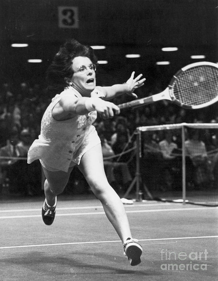 1974 Photograph - Billie Jean King by Granger