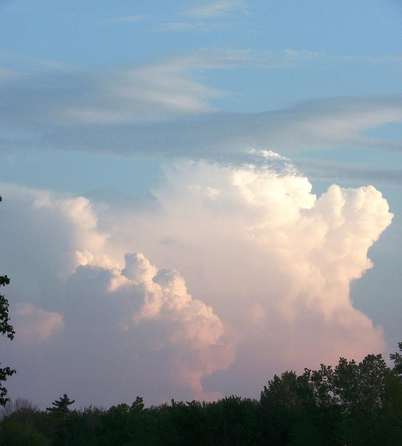 Clouds Photograph - Billows 2 by Peggy King