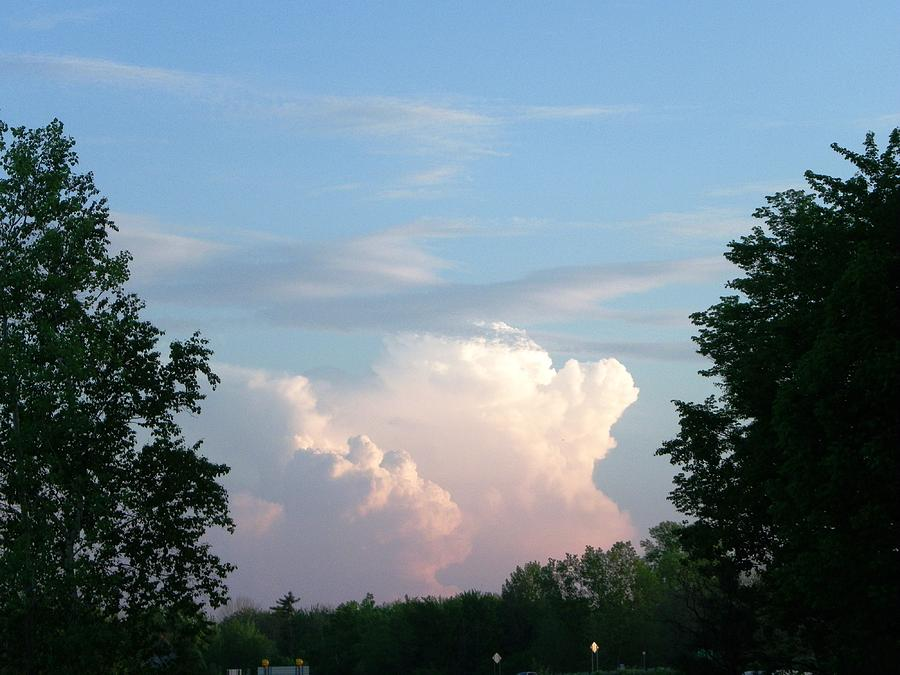 Sky Photograph - Billows by Peggy King