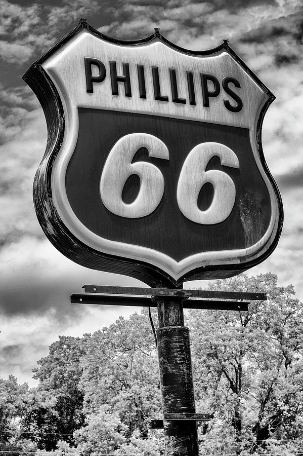 Plains Photograph - Billy Carter Phillips 66 by Stephen Stookey