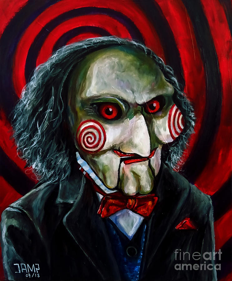 Billy The Puppet Painting - Billy The Puppet by Jose Mendez