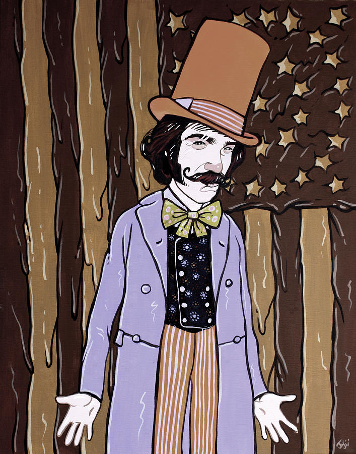 Gangs Of New York Painting - Billy Wonka One  by Jason  Wright