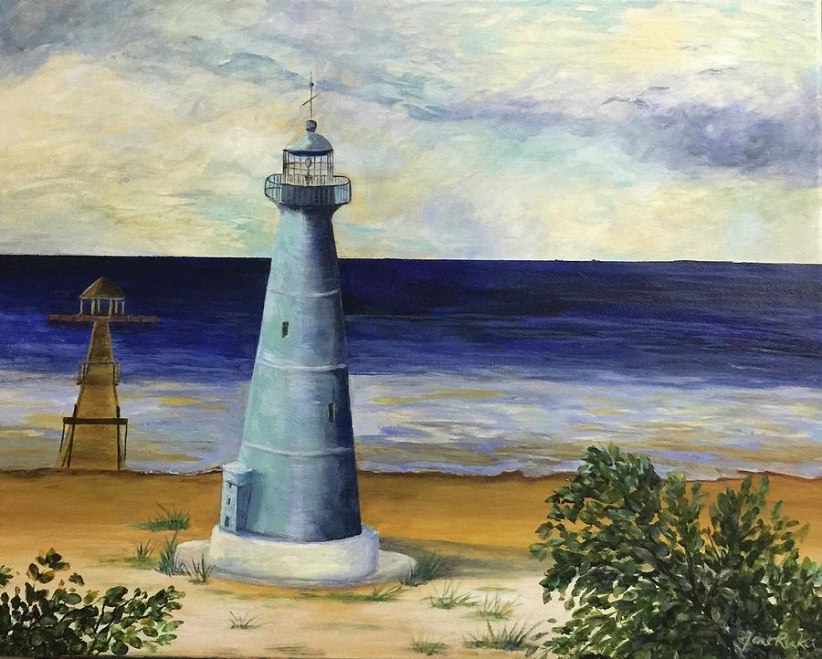 Biloxi Lighthouse by Jane Ricker