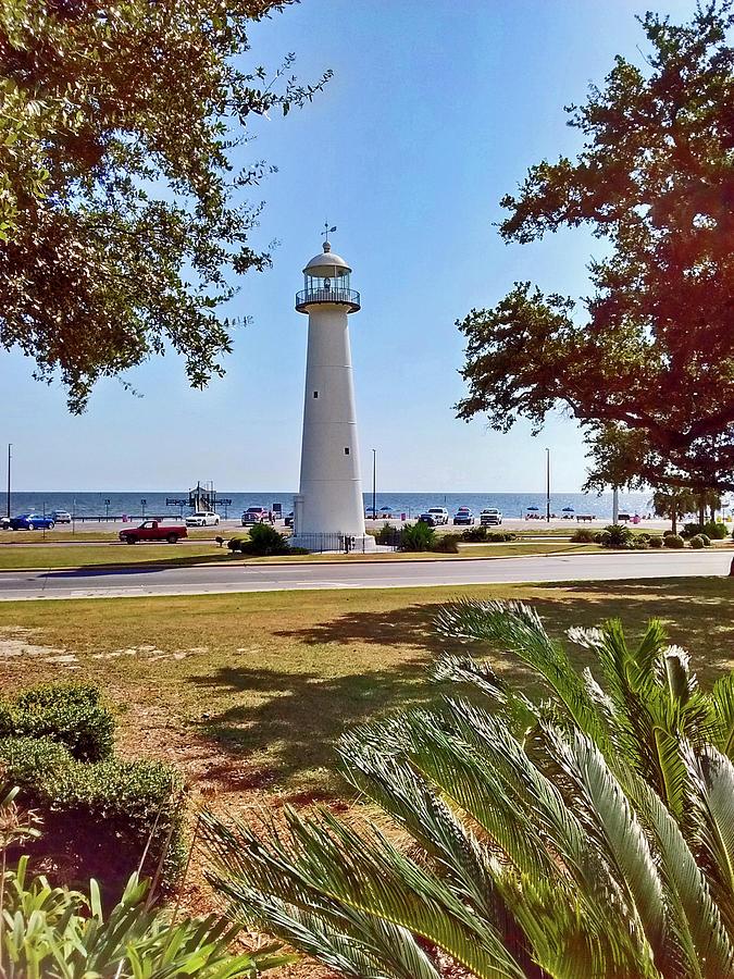Biloxi Lighthouse Photograph By Marian Bell