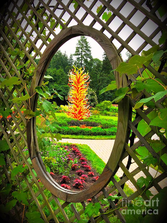 Biltmore Chihuly 2 by Buddy Morrison