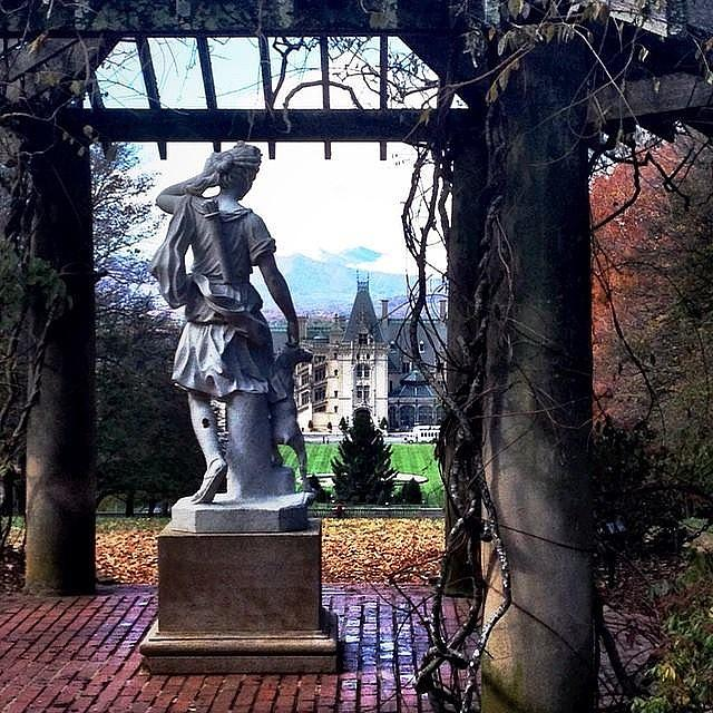 Goddess Photograph - Biltmore Goddess by Jen McKnight