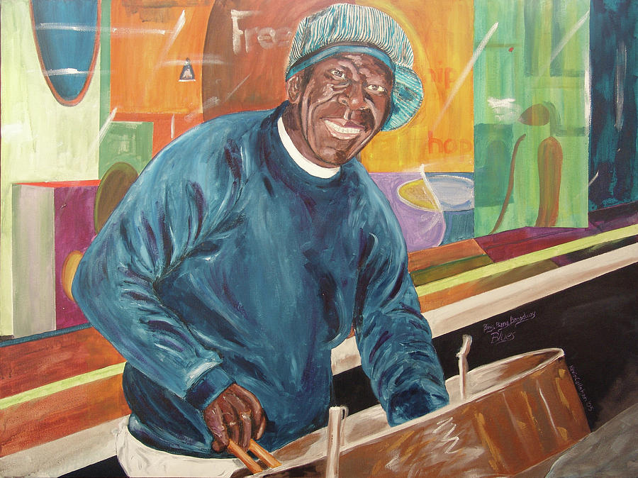 Kevin Callahan Painting - Bing Bang Broadway Blues by Kevin Callahan