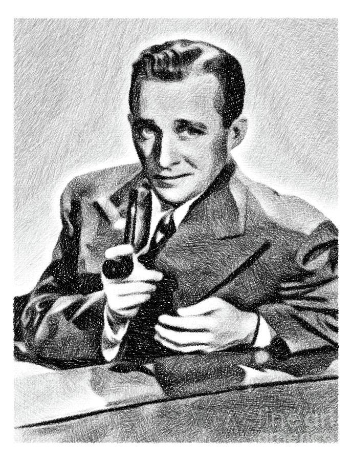 Bing Crosby, Vintage Legend By Js Drawing