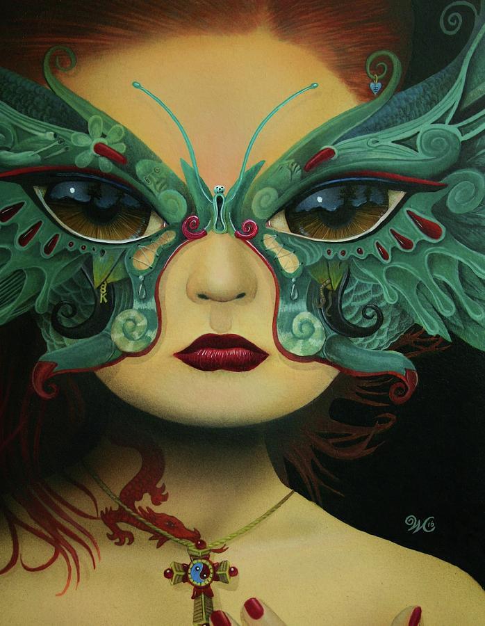 Surreal Painting - Biomorphic Bifocals by Will Crane