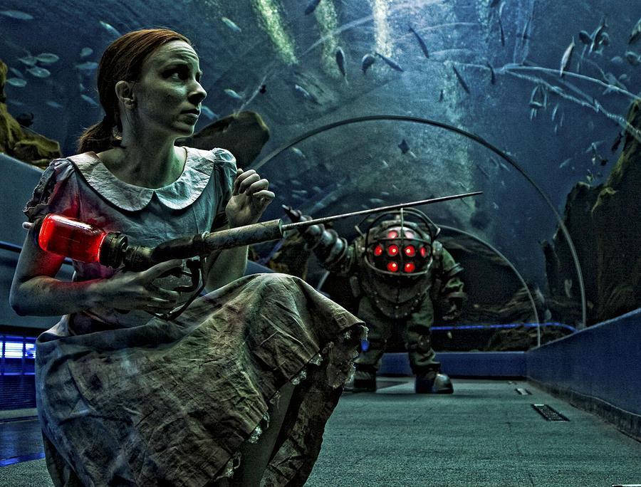 Bioshock Digital Art - Bioshock by Dorothy Binder