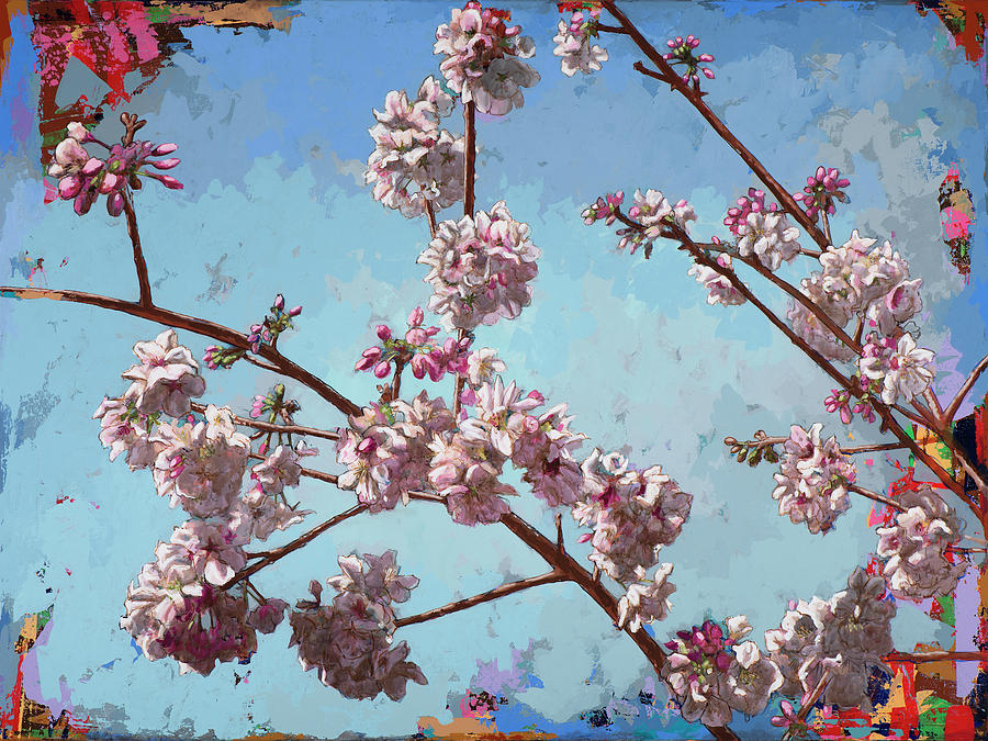 Cherryblossoms Painting - Biosphere #8 by David Palmer