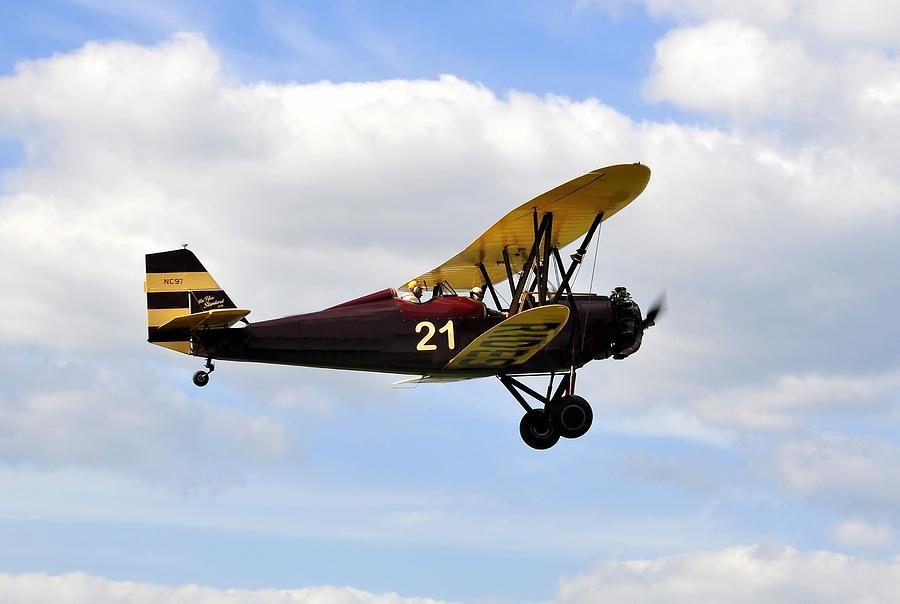 Biplane Photograph - Biplane by David Lee Thompson