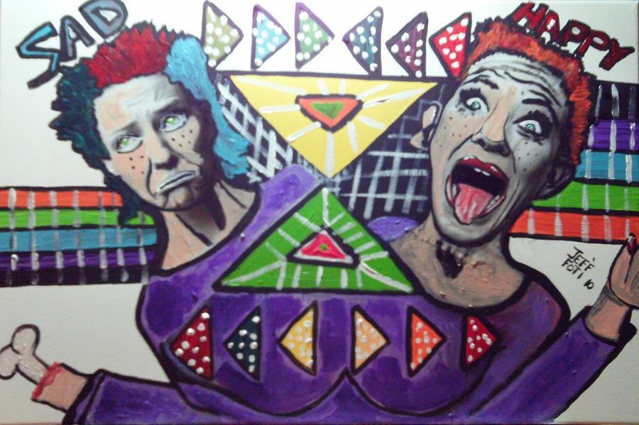 Bipolar Mixed Media by Jeffrey Foti