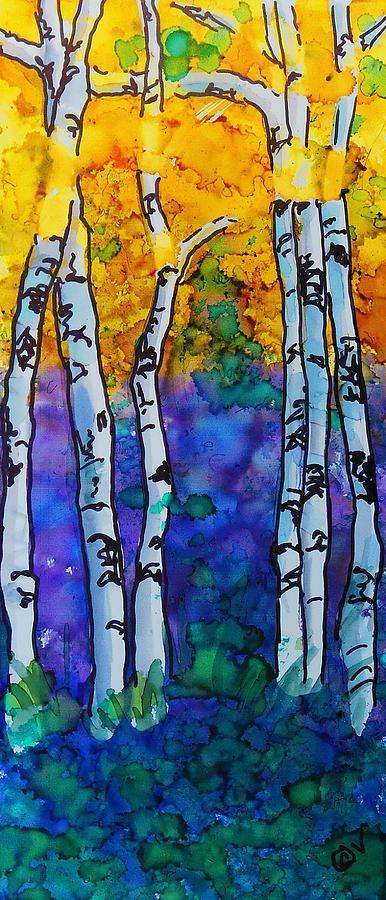 Birch - 248 by Catherine Van Der Woerd