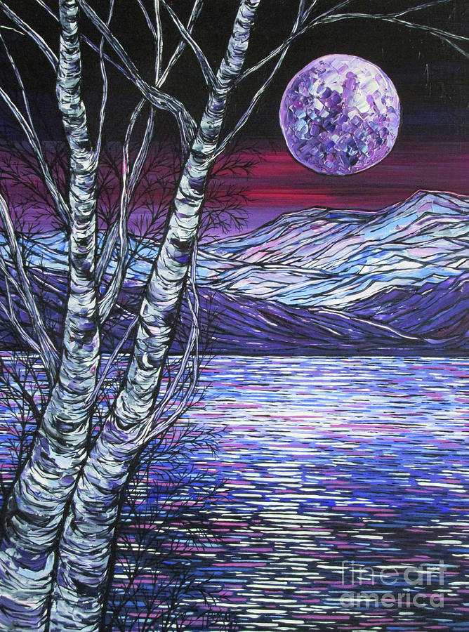 Birch Pond Reflection Pool by Tracy Levesque
