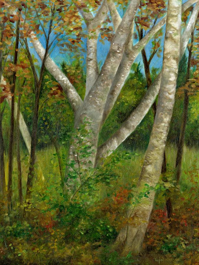 Birches by FT McKinstry