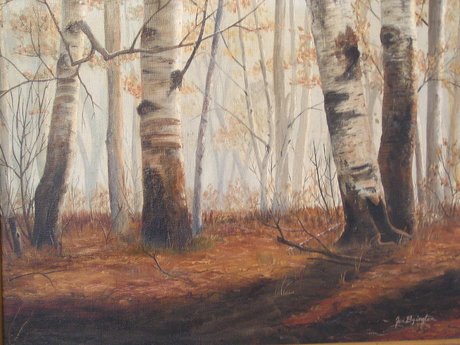 Birches by Jan Byington