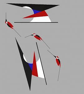 Bird Digital Art - Bird 03 by Aline Pottier  Gama Duarte