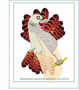 Bird Digital Art - Bird 2 by Shirley Sacks