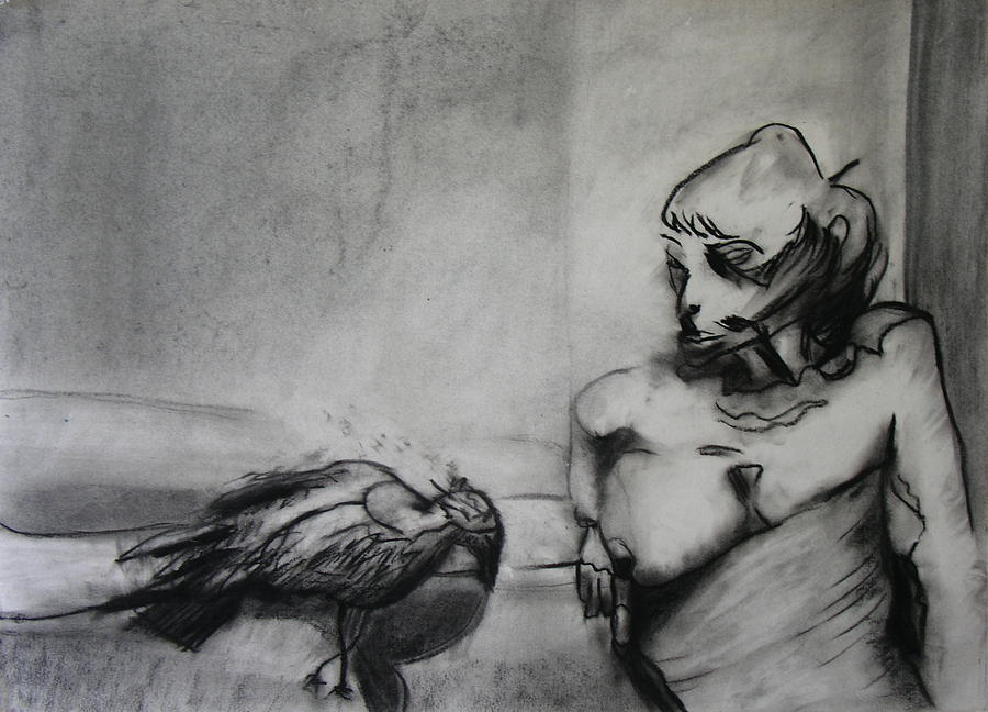 Bird Photograph - Bird Drama by Brad Wilson