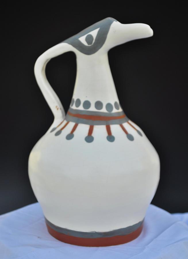 Bird Goddess Vessel Small by Kristen R Kennedy
