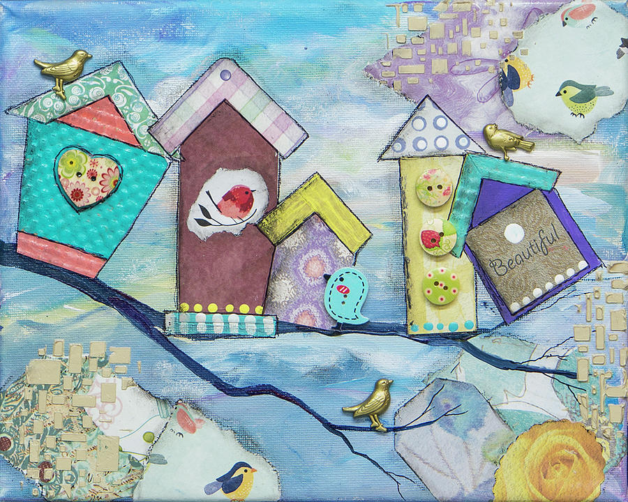 Bird Houses by Wendy Provins