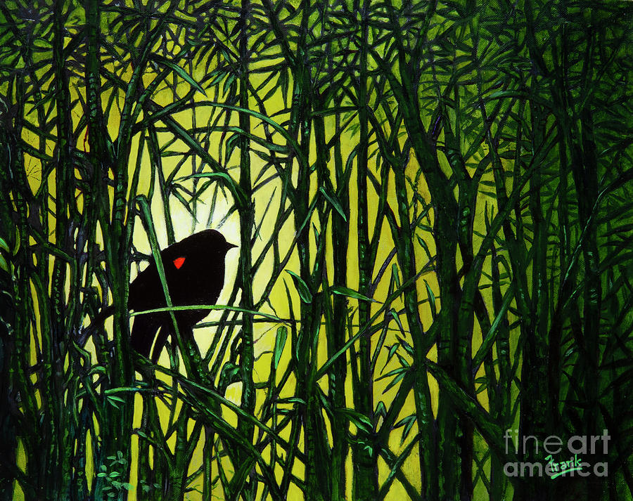 Bird in the Reeds by Michael Frank
