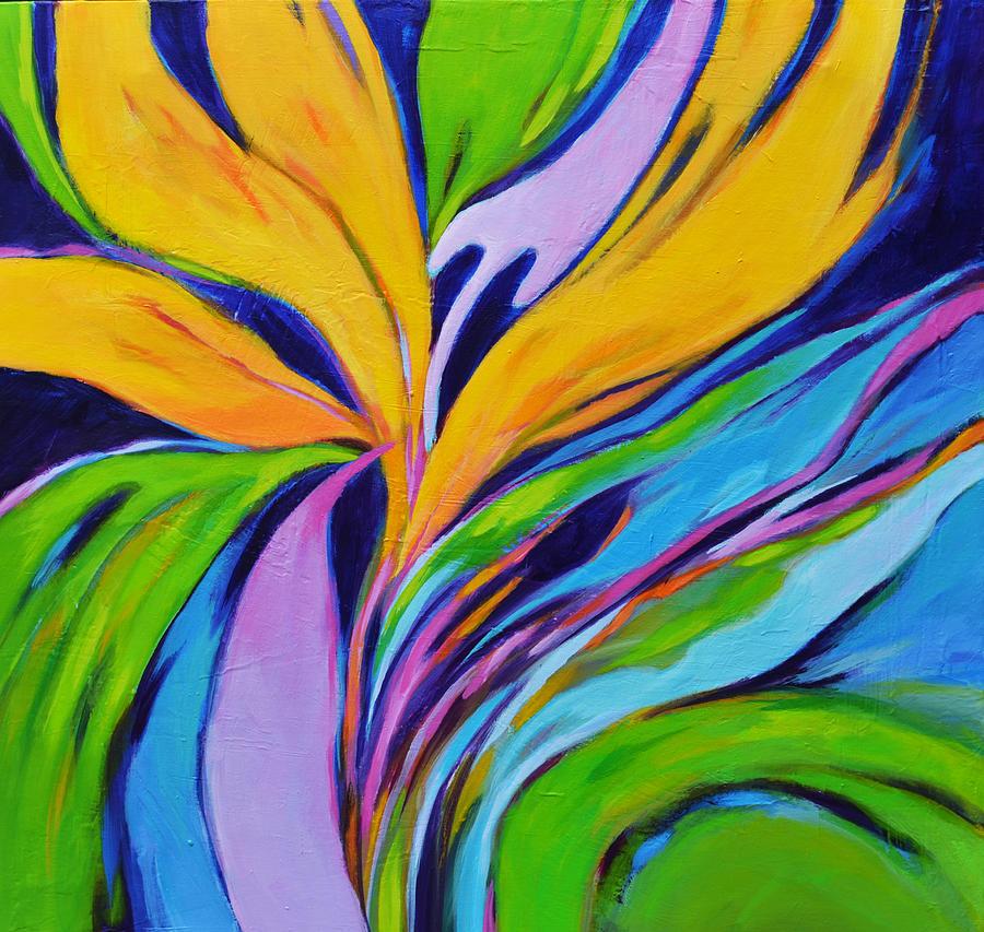 Bird Of Paradise Painting - Bird Of Paradise by Filomena Booth