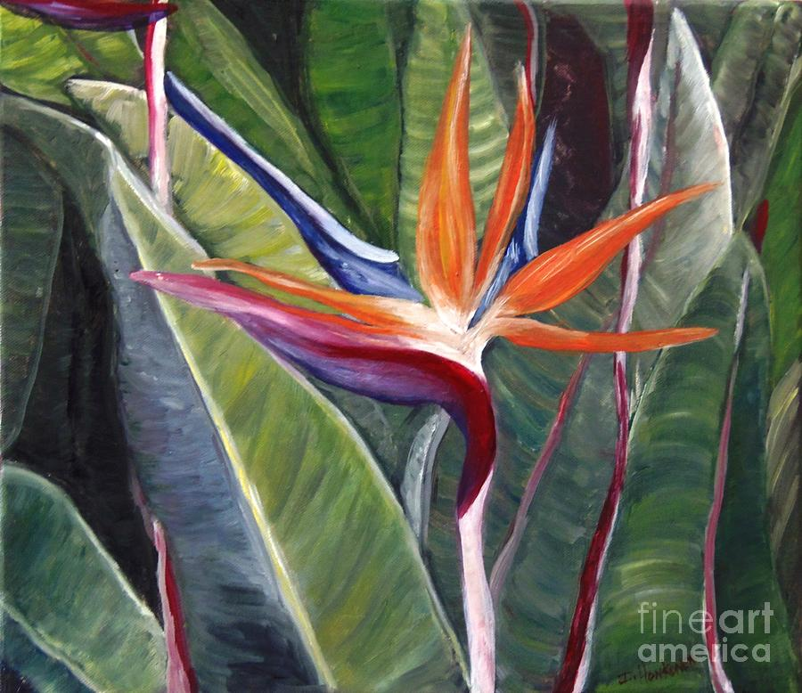 Bird Of Paradise Painting - Bird Of Paradise by Isabel Honkonen