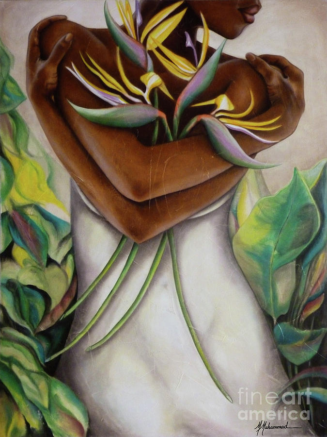 Flowers Painting - Bird Of Paradise by Marcella Muhammad