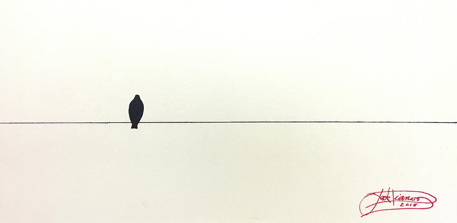 BIRD ON A WIRE by Jack Diamond