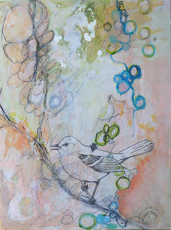 Bird Mixed Media - Bird Song by Donna Stubbs