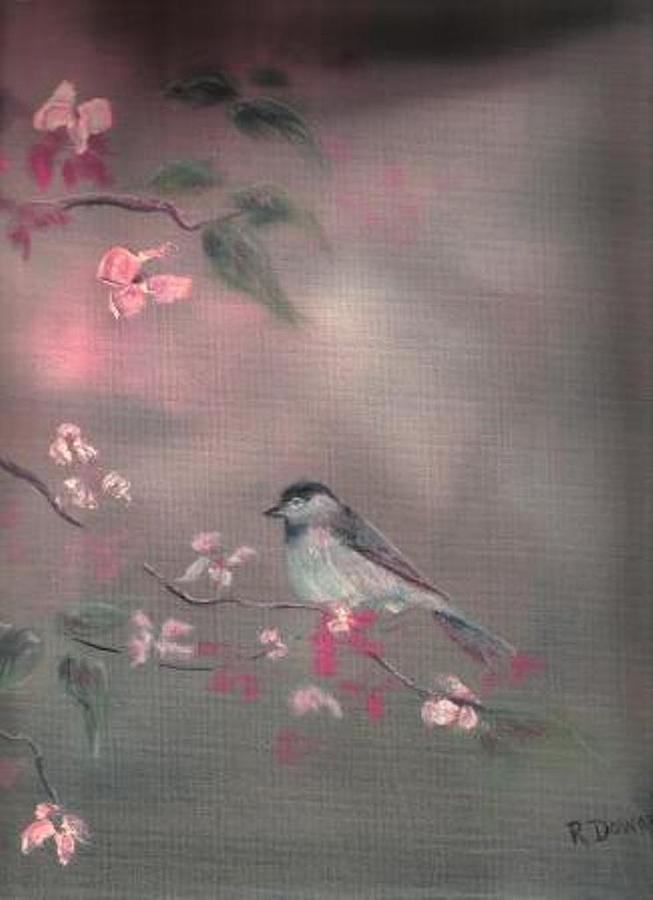 Bird Study Painting by Raymond Doward