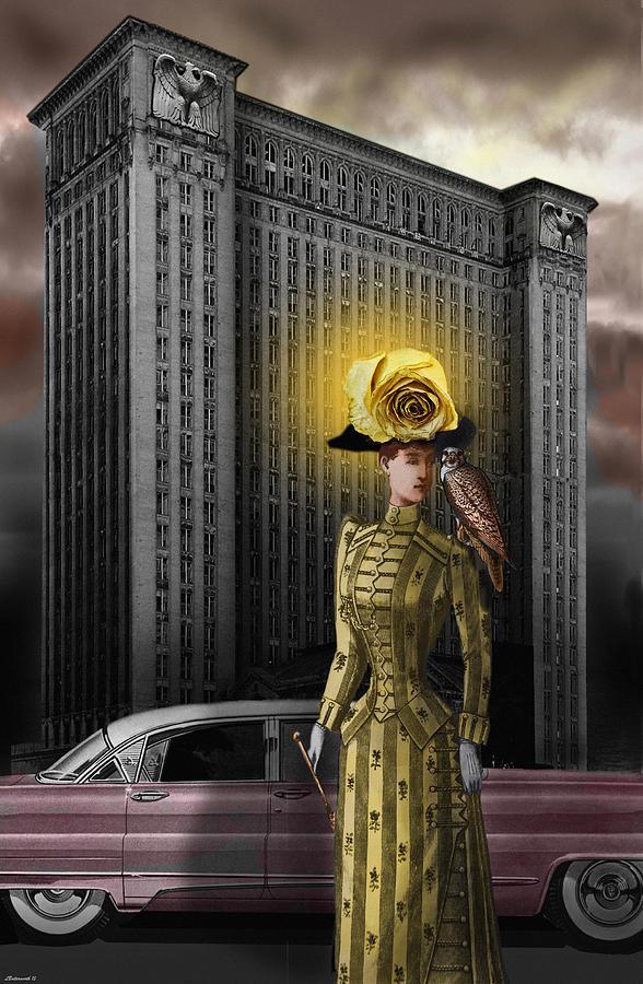 Surrealism Digital Art - Bird Woman by Larry Butterworth