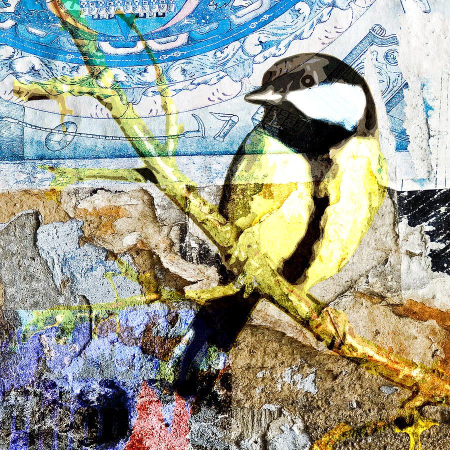 Bird Digital Art - Bird4 by Marti Wedewer