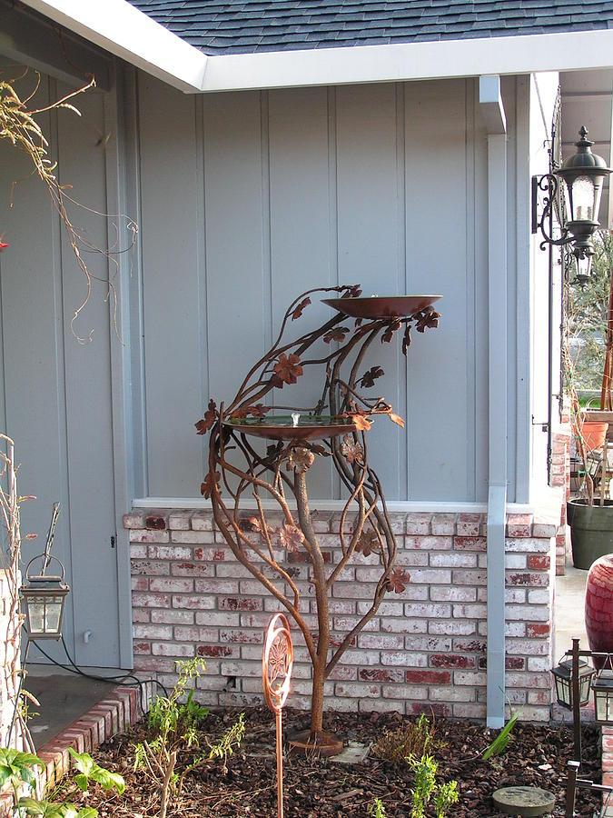 Birdbath Sculpture - Birdbath 2 by John Jones