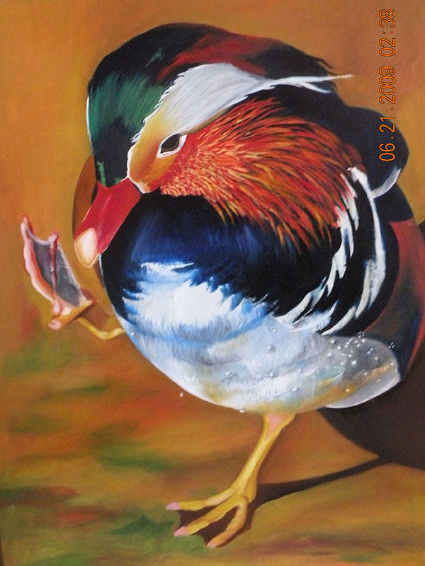 Bird Painting - Birdie by Latika Ratawal