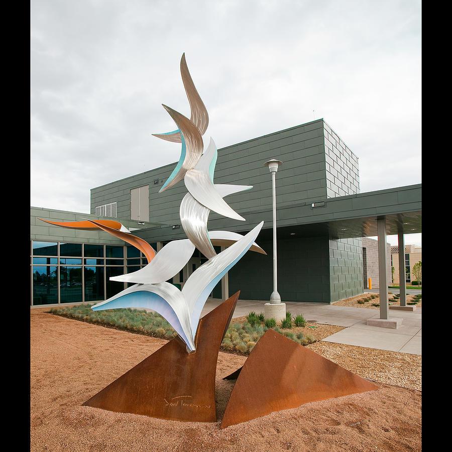 Birds Sculpture by David Tonnesen