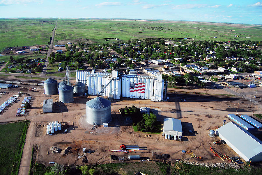 Chappell Photograph - Birds Eye View Of Chappell by Rural Housewife