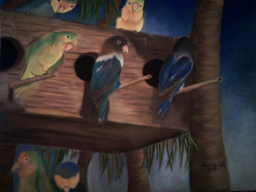 Birds Resting by Alma Bella Solis
