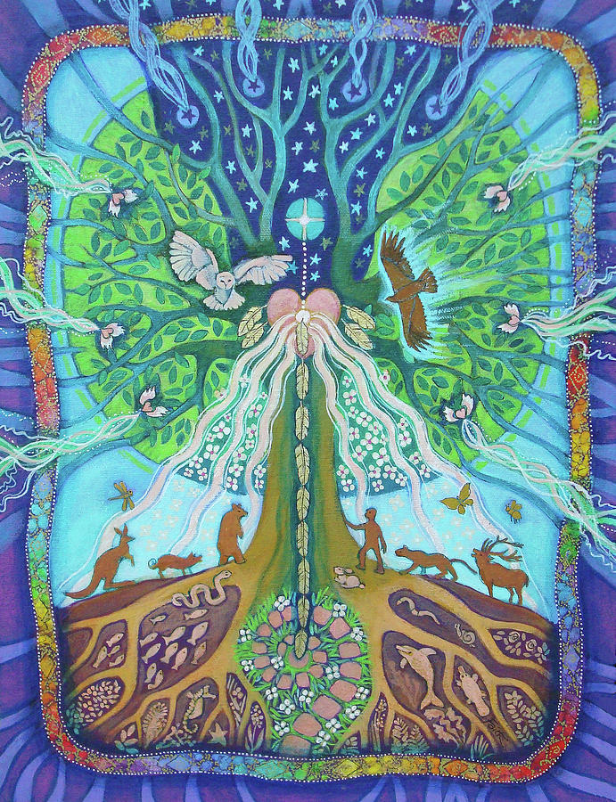 BIRDSONG TREE OF LIFE by FAITH NOLTON