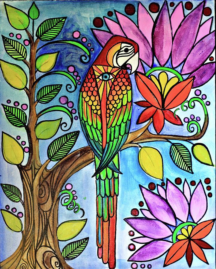 Birdy Painting