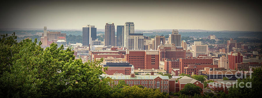 Birmingham, AL View in Color by Tracy Brock