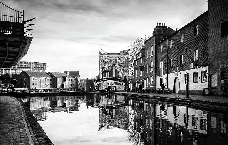 Birmingham Photograph - Birmingham Canal by Nick Bywater