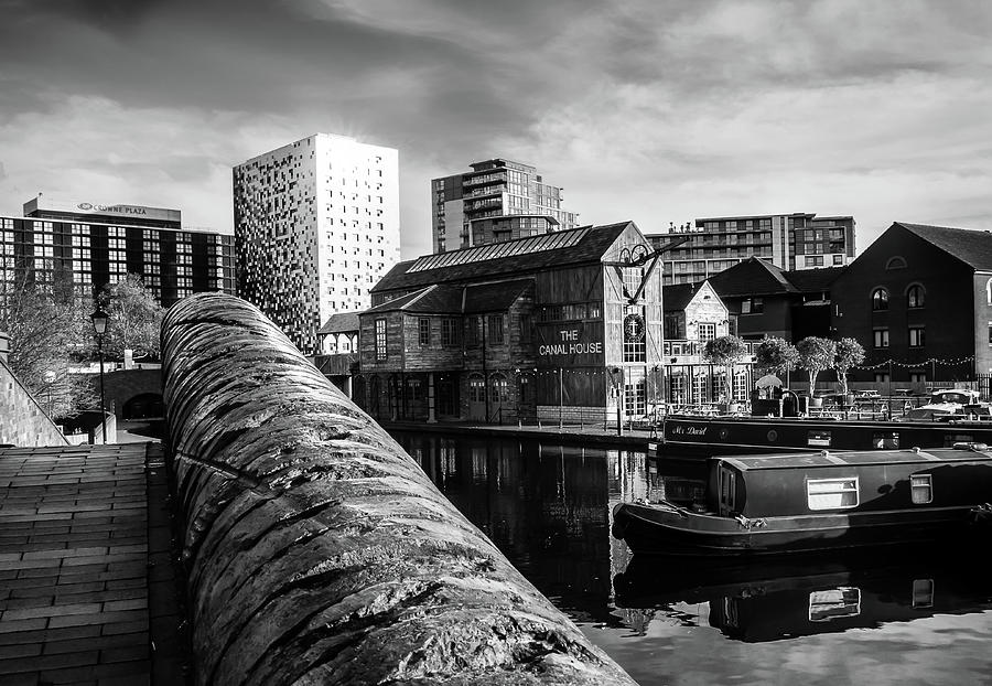 Birmingham Photograph - Birmingham Waterway by Nick Bywater