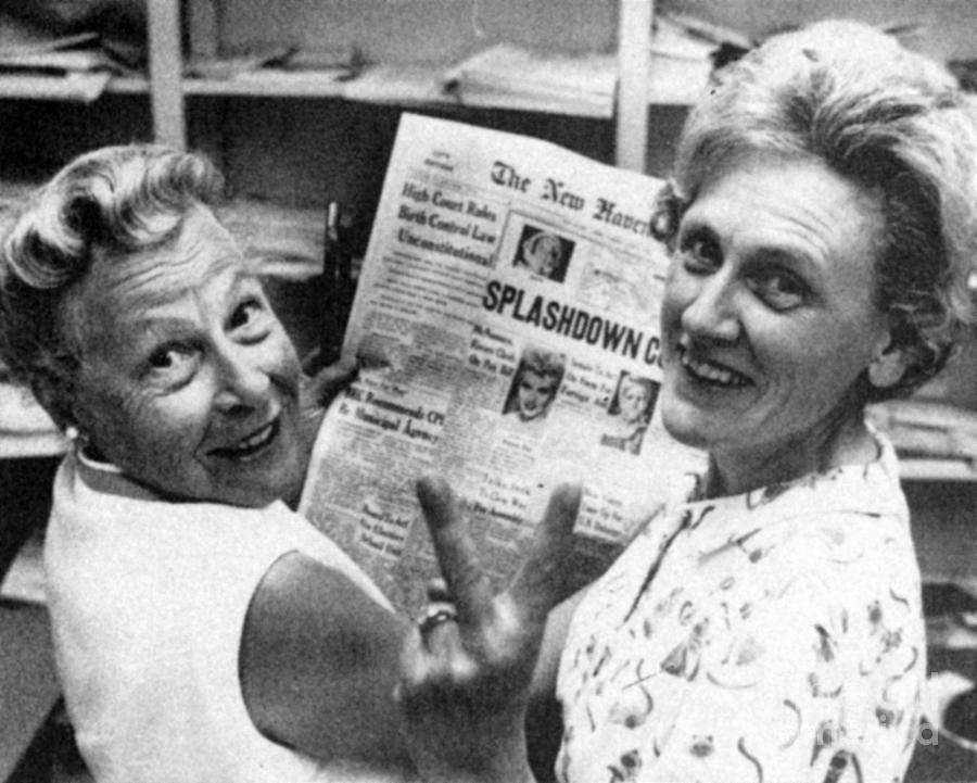 1965 Photograph - Birth Control Ruling, 1965 by Granger