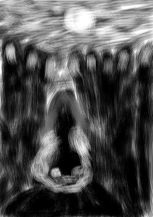 Birth Digital Art by Marcelo Macedo Flores Macedo
