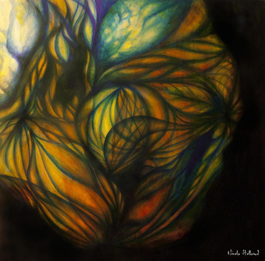 Light Painting - Birth Of Light by Nicola Holland