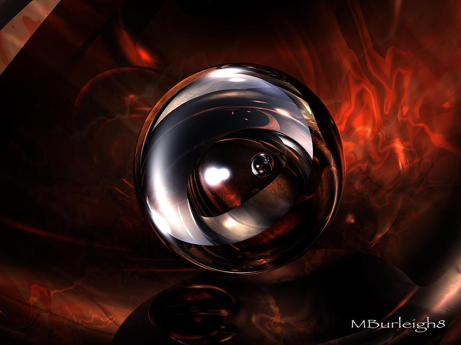 Bryce Digital Art - Birth Pearl by Michael Burleigh
